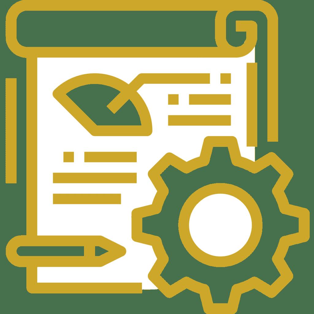 weboldal létrehozás igényfelmérés ikon